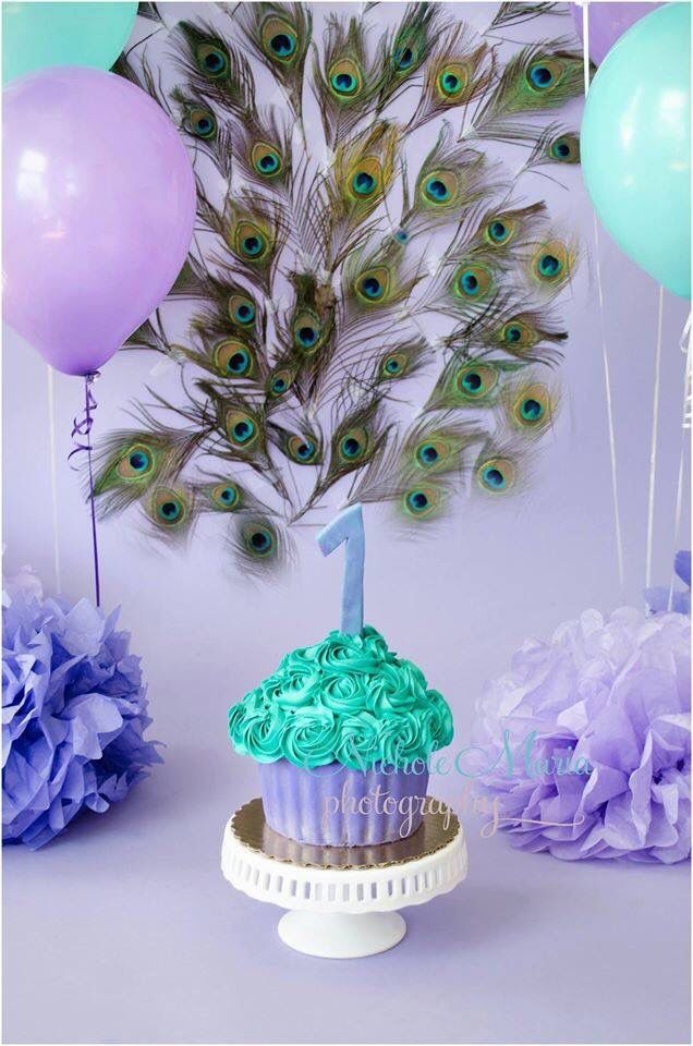 Peacock Themed Decoration Ideas Part - 25: Peacock Themed First Birthday