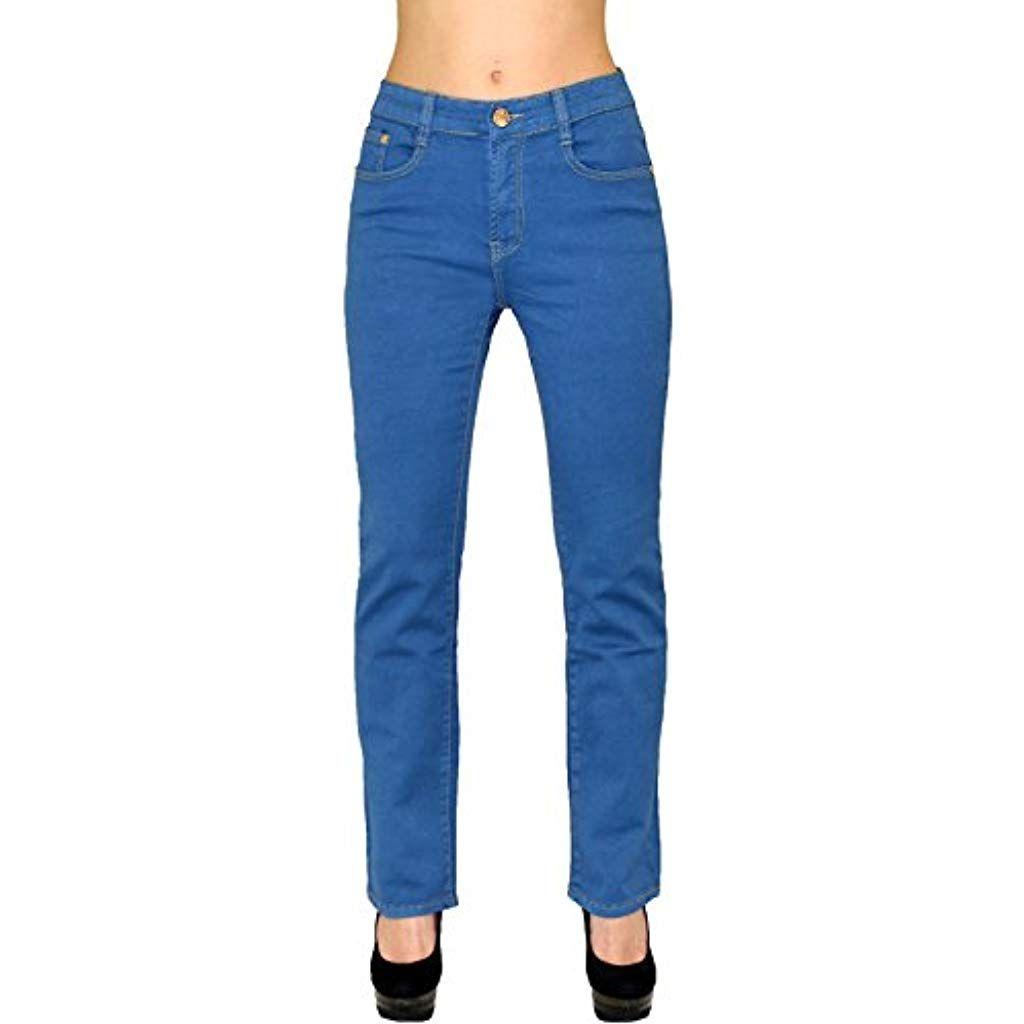 jeans damen high waist 52
