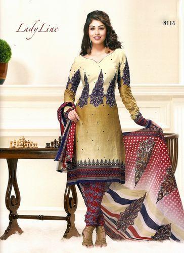 Designer Pure Cotton Ethnic Printed Indian Salwar Kameez Suit Any Size 8114   eBay