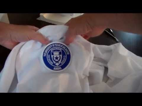 50 iron on name tags for uniforms sports kit etc