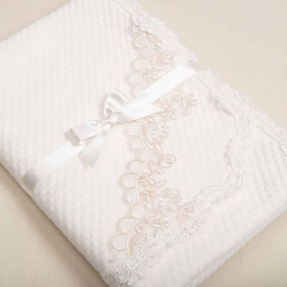 Christening Blanket Penelope Baptism Blanket Etsy Lace Baby Blanket Baby Girl Blankets Christening Blanket