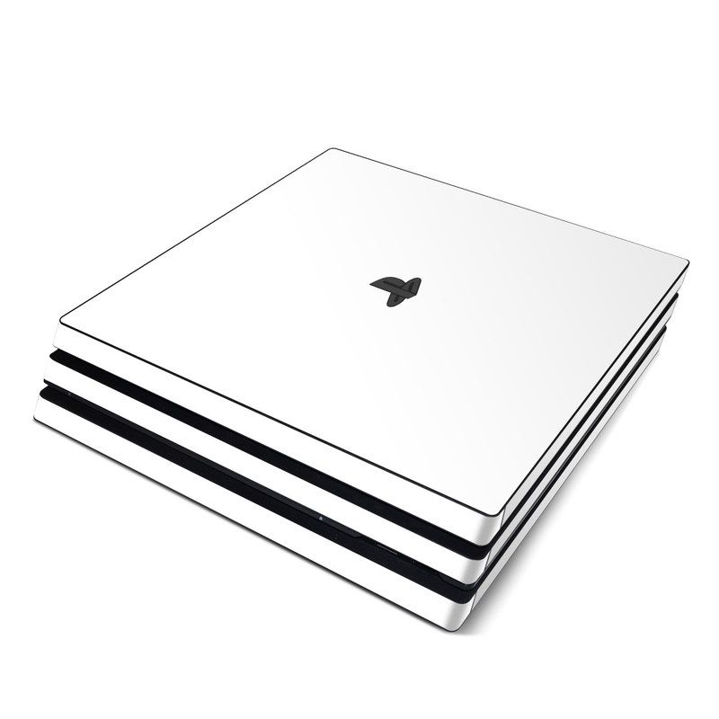 Solid State White Playstation 4 Pro Skin  Istyles Solid State White Playstation 4 Pro Skin  Istyles White Things playstation 4 white color