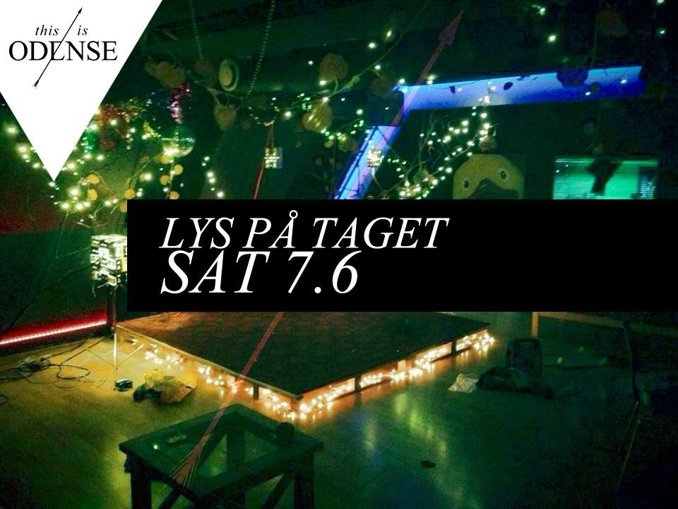 Lys på taget. Alternativ koncertaften, der vil skabe følelser mellem publikum og kunstnere. #SofieKØ #DanRose #CaperClowns #BobZ #LysPåtaget #LightInTheAttic #mitodense #thisisodense Læs anbefalingen på: www.thisisodense.dk/12164/lys-p-taget