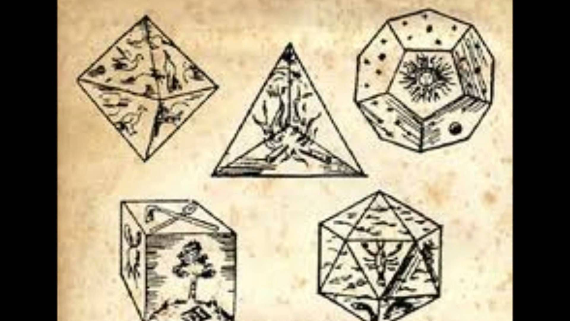 Solidi Platonici   Solido platonico, Geometria sacra, Matematica