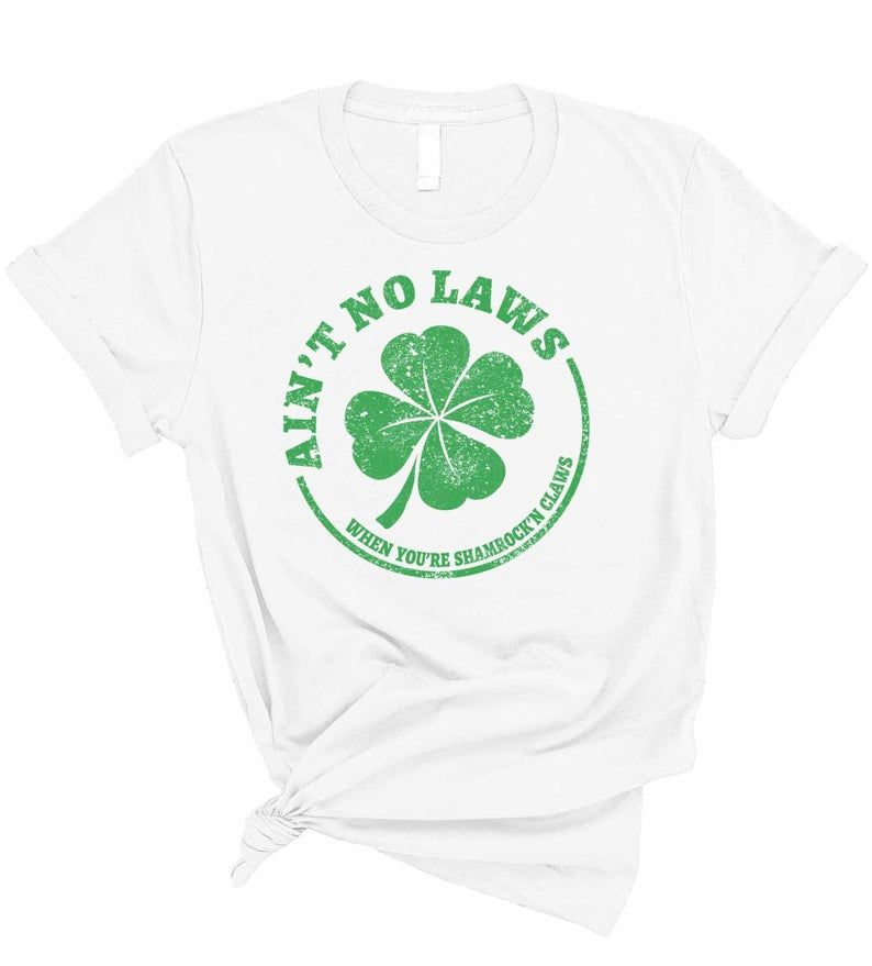 Patricks Day Girls Performance T-Shirt University of Hawaii St Clover