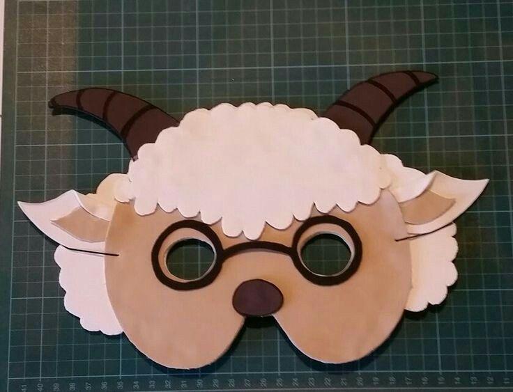 Máscara de cabra  a0dc57e2d81