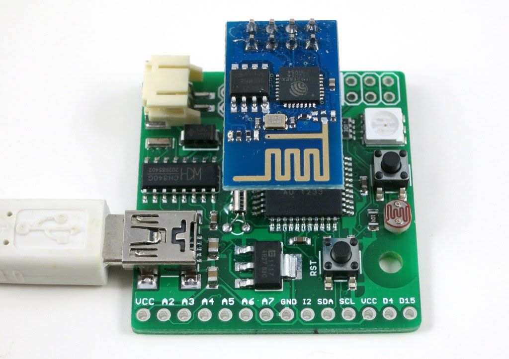 how to connect wifi module to microcontroller