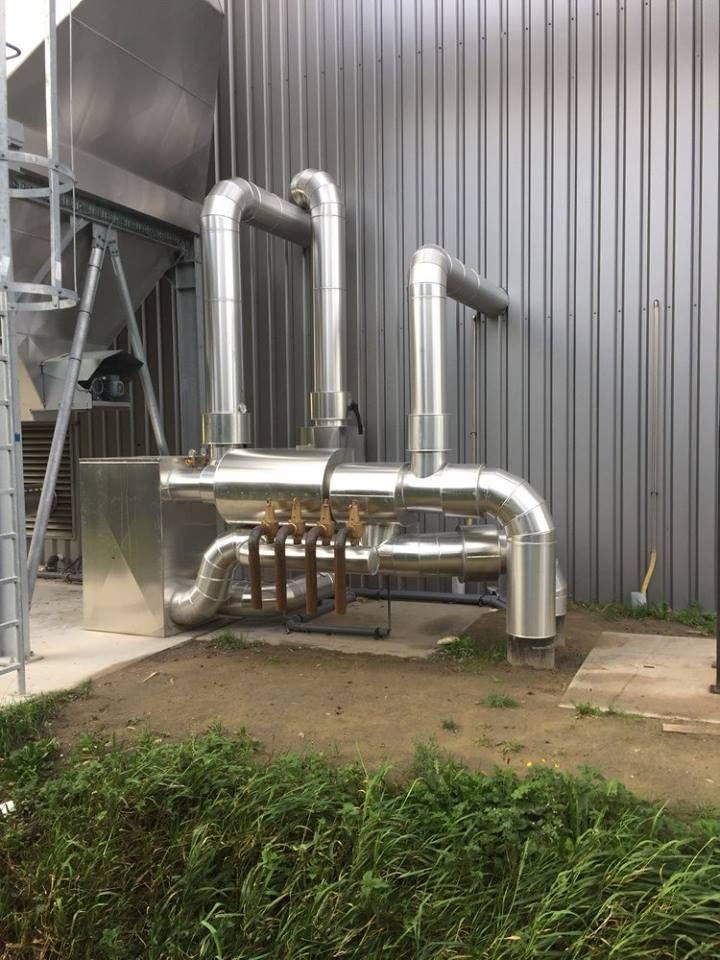 Pompgroep met warmtewisselaar (water/water