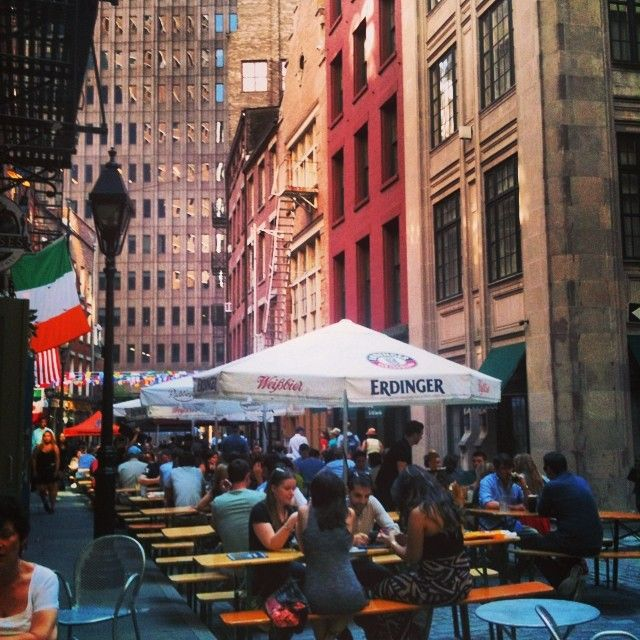 Stone St, Financial District, Manhattan, Lower Manhattan, NYC, NY, New York, historic district, happy hour