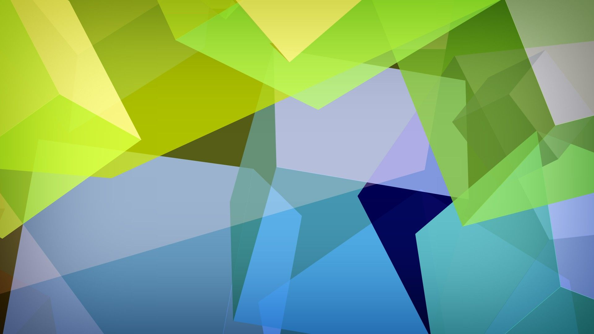 Geometric Green Background HD Wallpapers Desktop