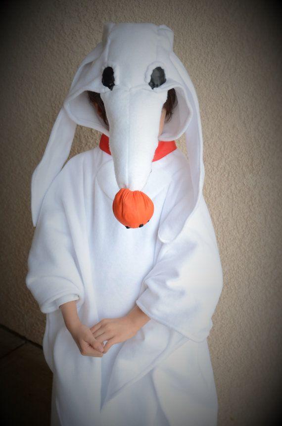 Zero Ghost Dog Halloween Costume Nightmare Before Xmas Halloween