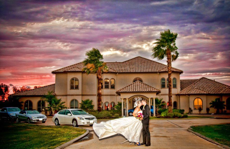 The Tuscany Villa Is Located In Katy Texas It A Beautiful Location To Wedding VenuesTuscanyWedding