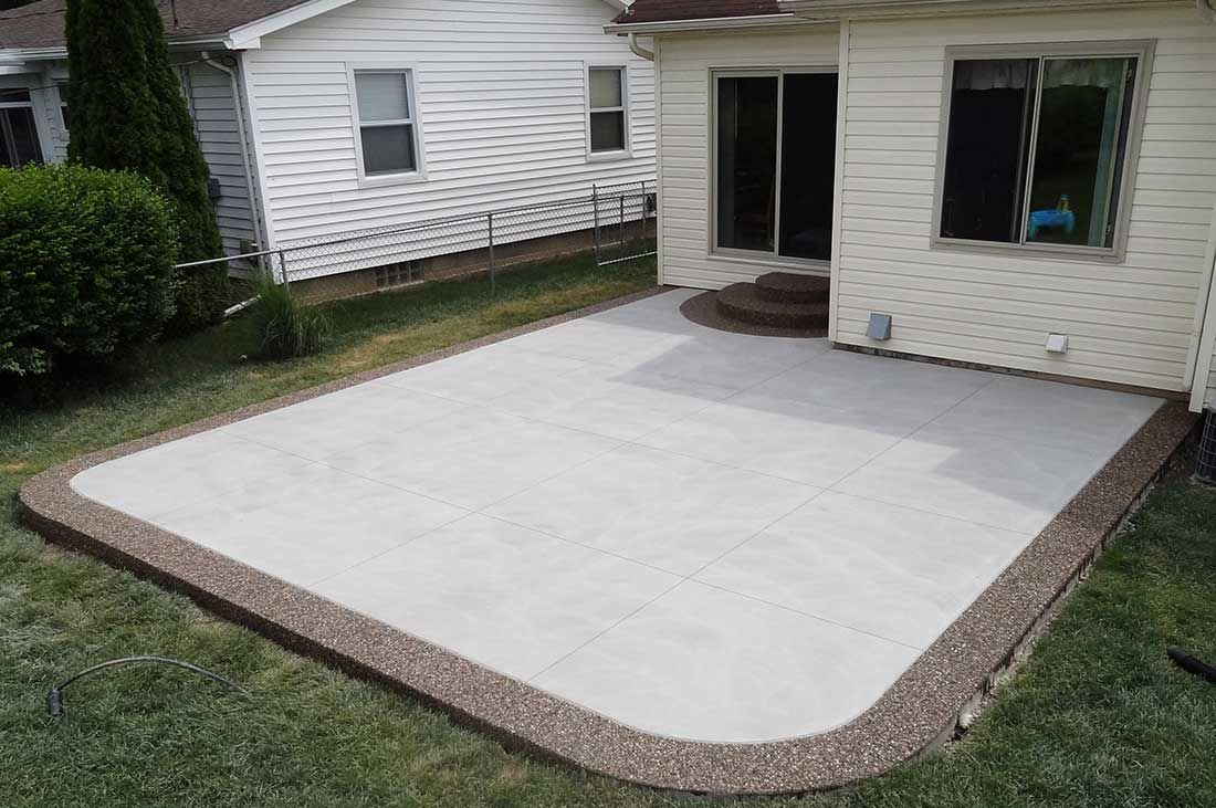 Stamped Concrete Patios | Unique Cement - Photos, Michigan ...