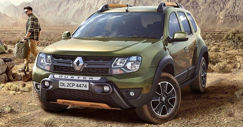 renault duster gets adventure edition in india dacia dacia duster carscoops pinterest. Black Bedroom Furniture Sets. Home Design Ideas