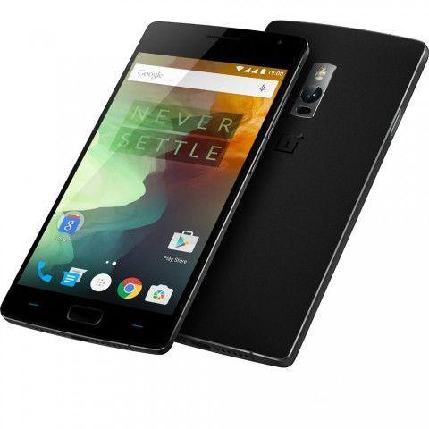 OnePlus Two 64GB Dual Sim 4G LTE SIM FREE/UNLOCKED - Sandstone Black (EU Version)