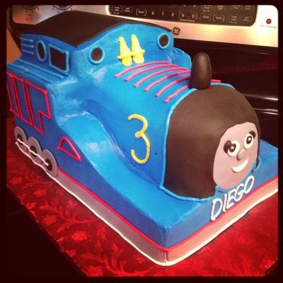 3D thomas the train Birthday Cakes Too Cute To Cut Bakery Garland