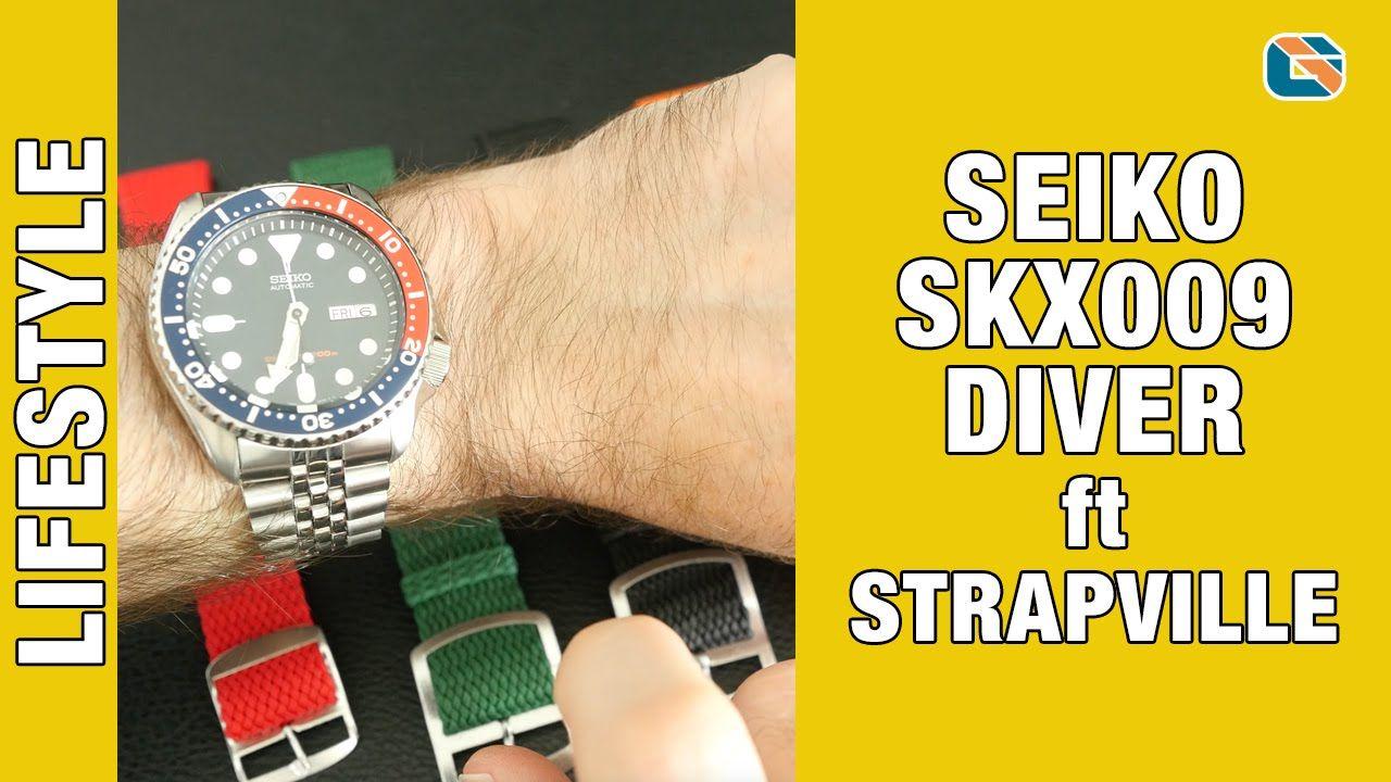 Seiko SKX009 Diver Watch Reveal ft Strapville Perlon