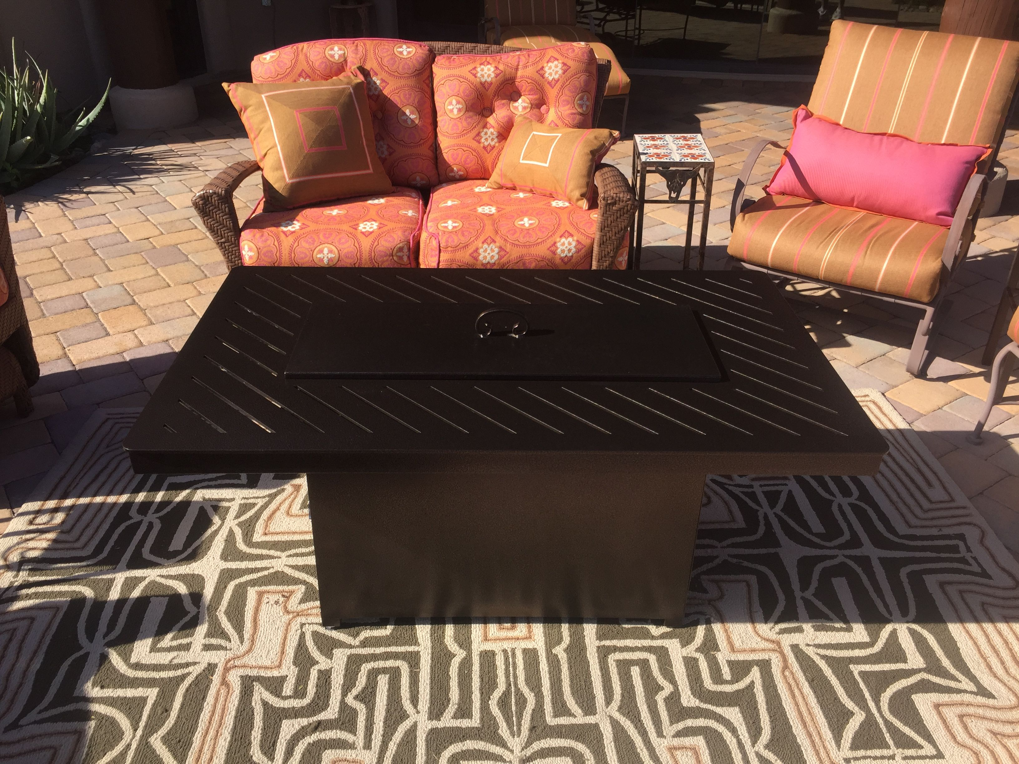 backyard ideas custom fire pit tables by az backyard custom 480