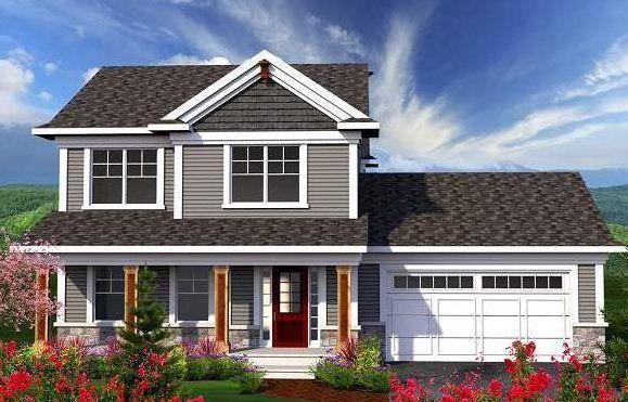 Resultado de imagen para fachadas casas con techo teja for Casa clasica 2 dormitorios techo inclinado