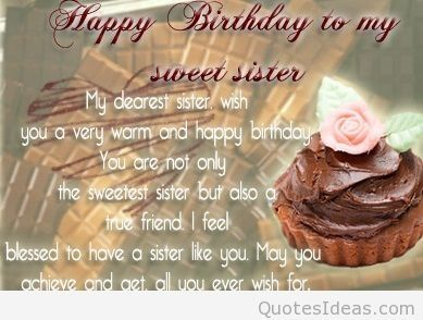 Birthday Wishes For Sister Quotes Hindi Clipartsgram Surprising