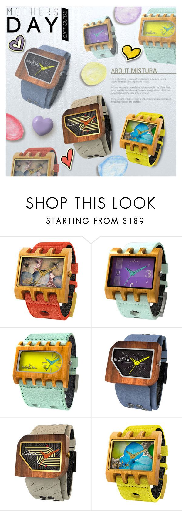 """Untitled #1348"" by blackfury ❤ liked on Polyvore featuring Mistura, watches, mothersdaygiftguide and blackfury"