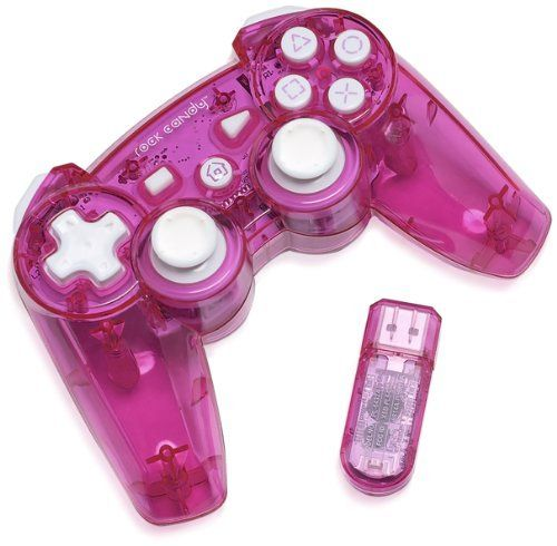 PDP Rock Candy Wireless Controller Pink PlayStation 3 by