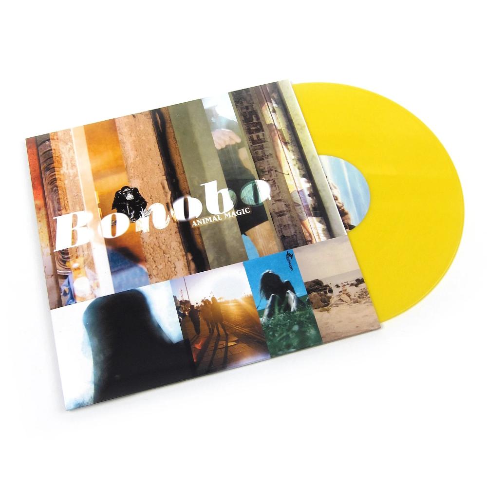 Bonobo Animal Magic 180g Colored Vinyl Vinyl 2lp In 2020 Animal Magic Bonobo Animals