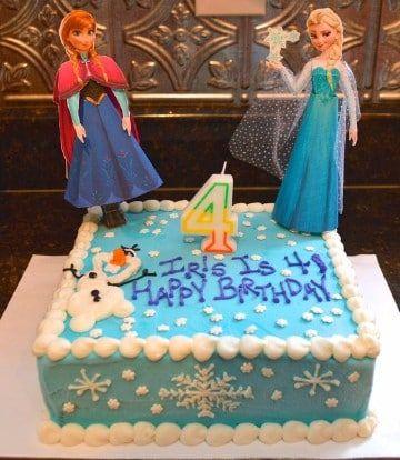 Hermosos Diseños De Tortas De Frozen Cuadradas 2nd Bday Jo