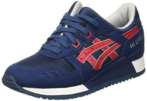 Zapatos azules Asics unisex FIyRokpk