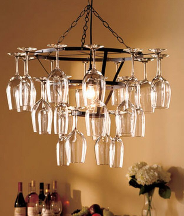wine rack lighting. 25 Glass Chandelier Wine Rack Bar Holder Hanging Kitchen Light Ceiling Fixture #Contemporary Lighting P
