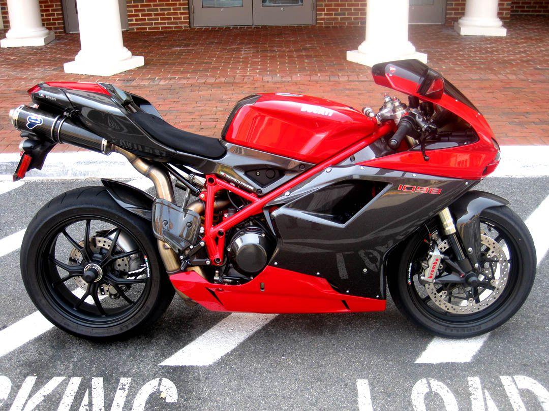 Custom 2008 Ducati 1098   Bikes   Pinterest   Ducati and Vehicle
