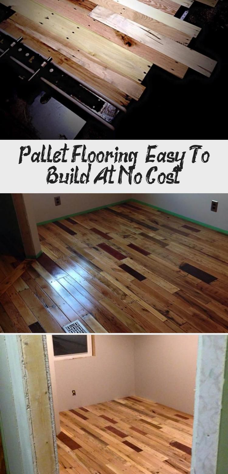 Pallet Flooring Easy To Build At No Cost Home Decor