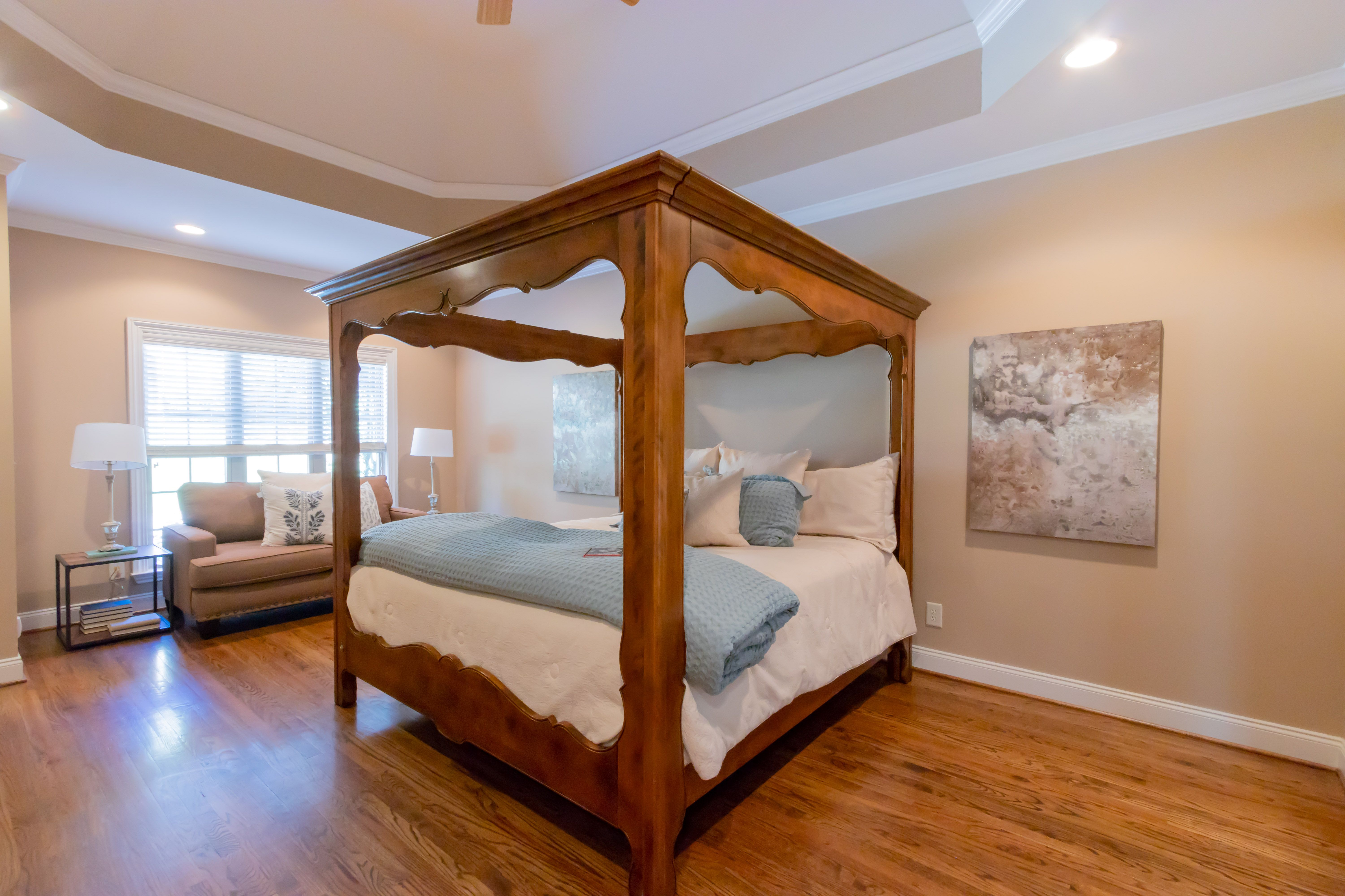 How to Stage Your Master Bedroom Master bedroom, Bedroom