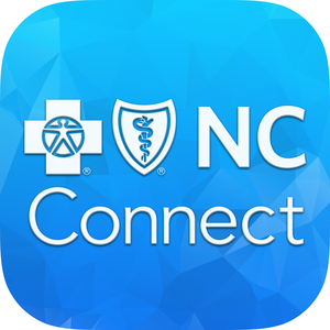Blue Connect Mobile Nc Blue Cross And Blue Shield Of North Carolina My Healthy App Health And Fitness Apps Blue Cross Connection