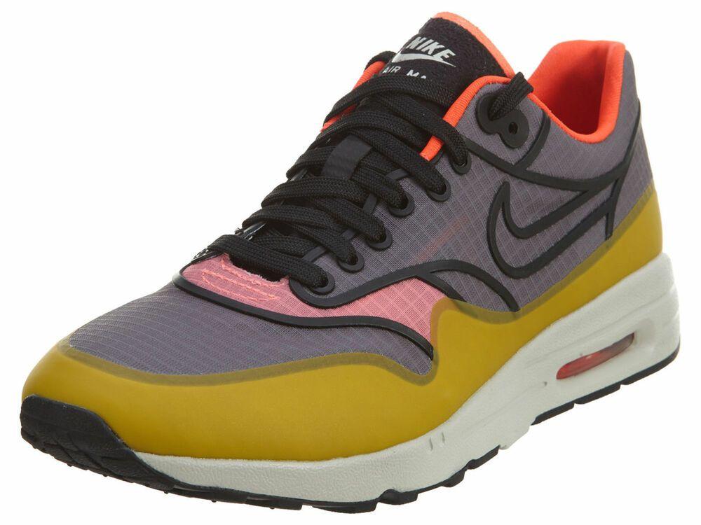nouveau produit 8311f 14088 Nike Air Max 1 Ultra 2.0 SI Women Sz 12 Grey Yellow Running ...