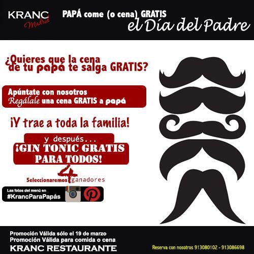 ¡#KrancParaPapás es lo último! ¡Entérate de cómo disfrutar de este día con nosotros!