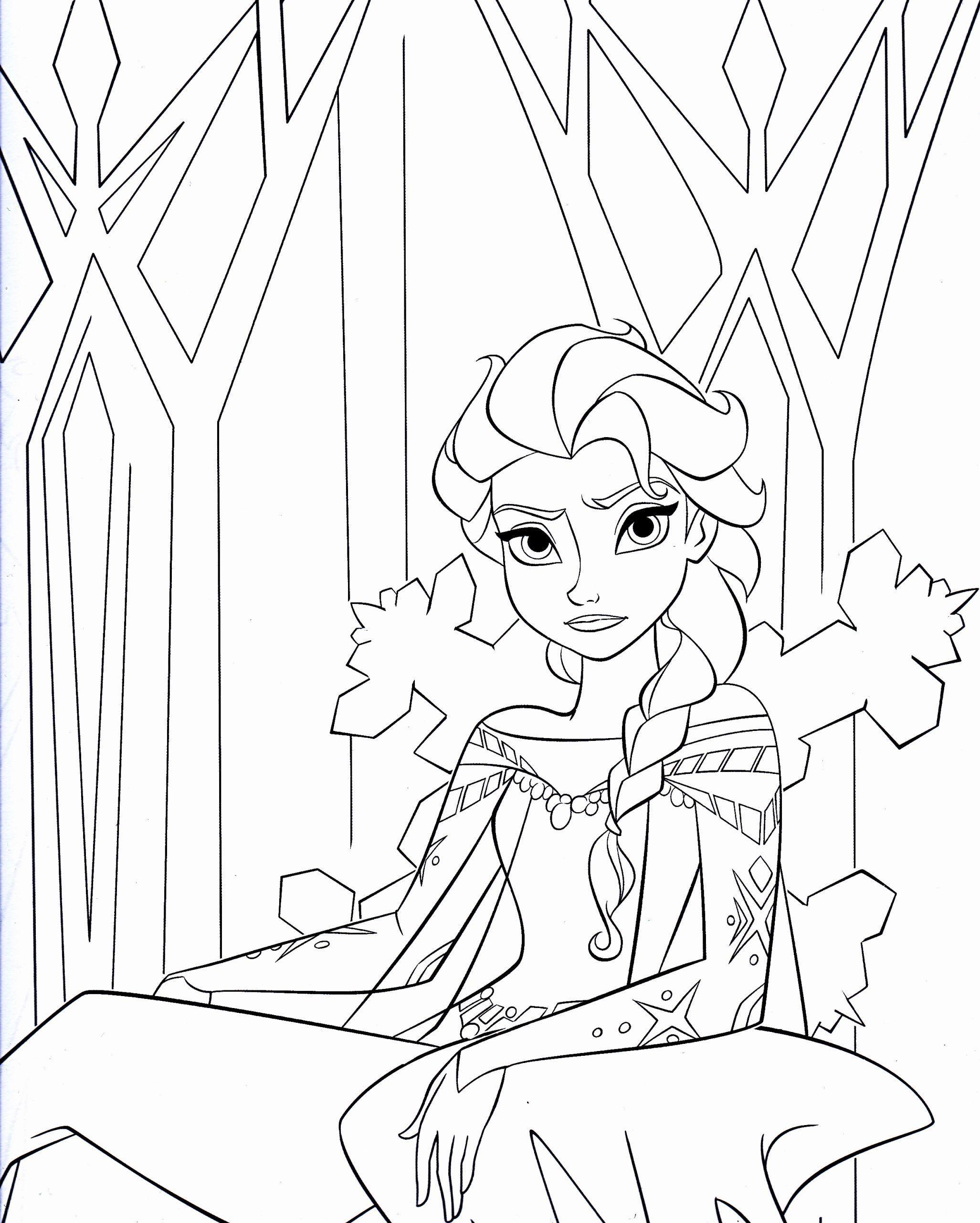 Printable Disney Frozen Coloring Pages Elegant Disney S Frozen
