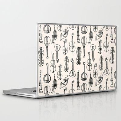 Vintage Instrument Collection  Laptop & iPad Skin