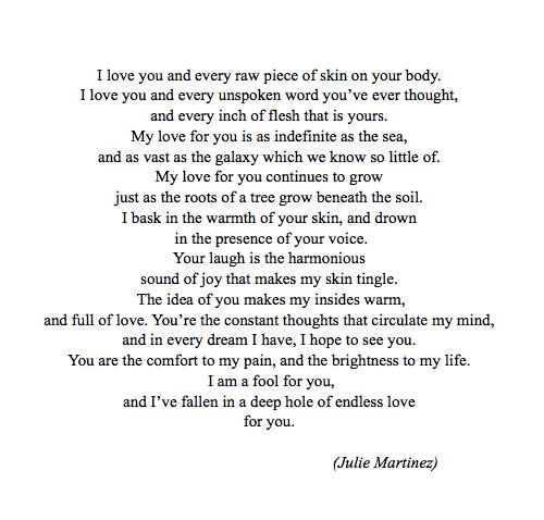 I Love You More Poem: Found On Writinqueen.tumblr.com Via Tumblr