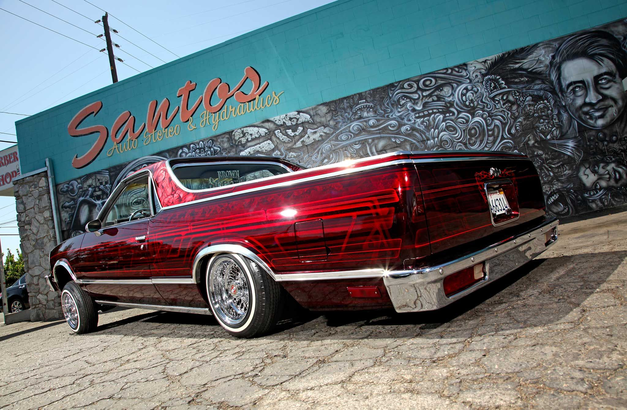 1985 Chevrolet El Camino The Elco Holic Lowrider Lowriders Cool Old Cars Lowrider Cars