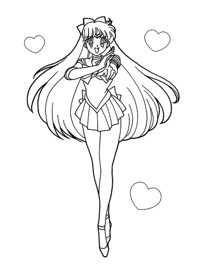 Beautiful Sailor Moon Coloring Pages Printable Moon Coloring Pages Sailor Moon Coloring Pages Sailor Moon