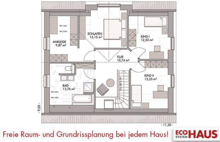 Kapitänshaus 160 Haus, Massivhaus
