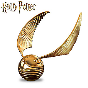 Harry Potter Golden Snitch Music Box Opens To Reveal Horcrux Harry Potter Golden Snitch Golden Snitch Harry Potter Music Box