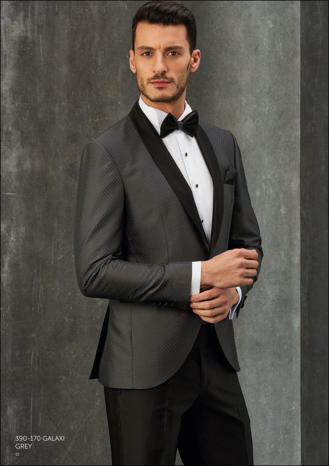 Boss Hugo Boss Herringbone Contrast Lapel Jacket #menswear