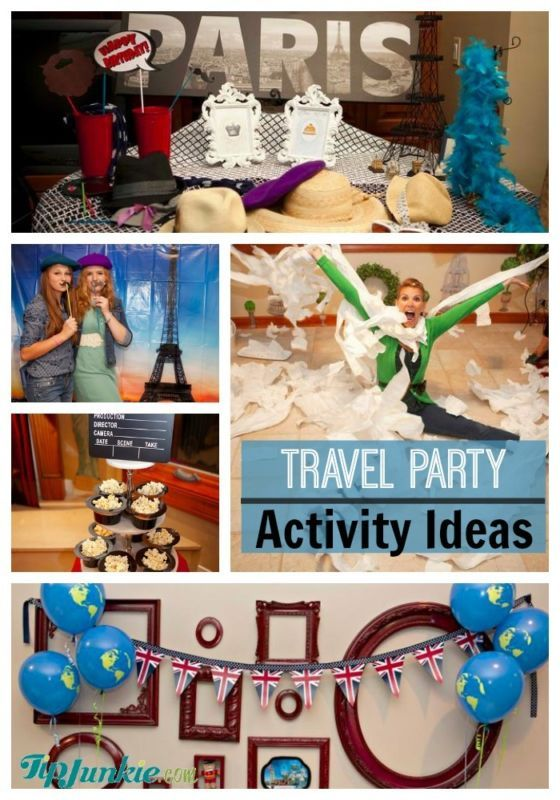 Best Travel Party Activities Party Travel Party Party Themes