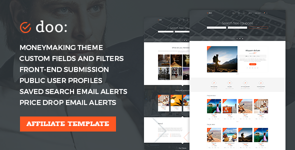GET] Affiliate WordPress Theme - Coupons & Discounts Marketplace ...
