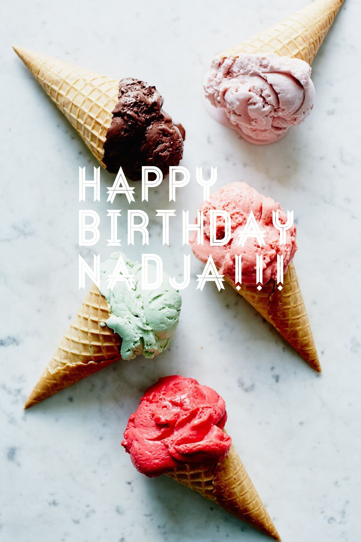 Happy birthday !! Hope you will feel very very special today;))     THANK YOU !!! @watermelonie @mariolahermiona
