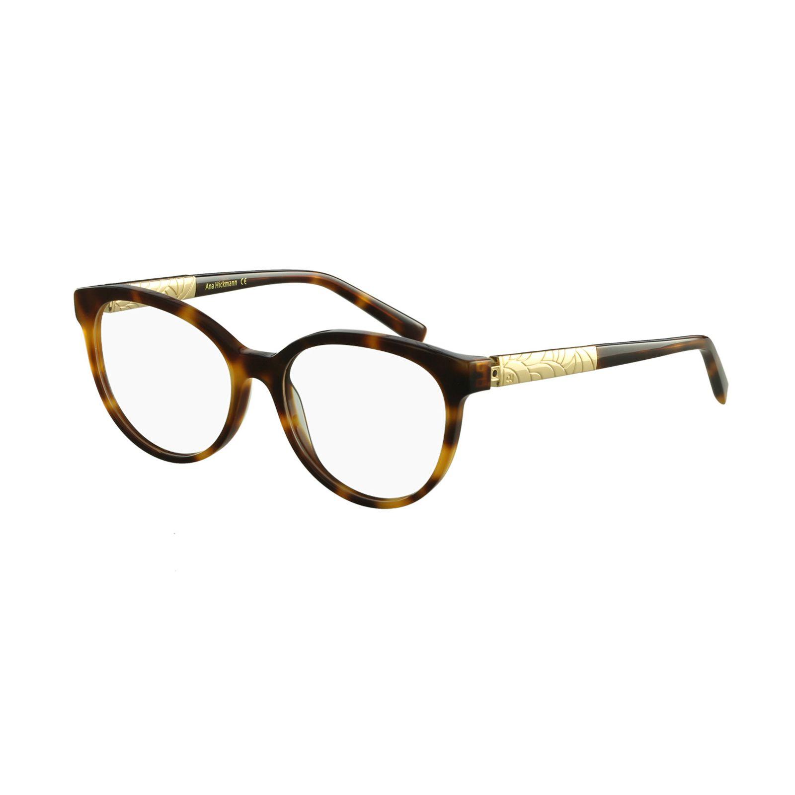 Armacao De Oculos Ana Hickmann Casual Marrom Armacoes De Oculos