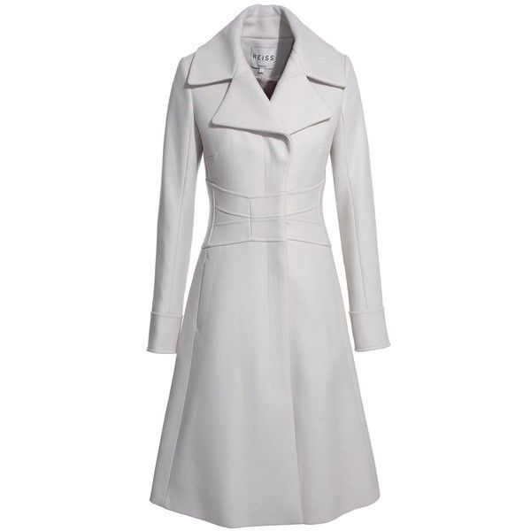 Coco Fit And Flare Coat - Light Gray