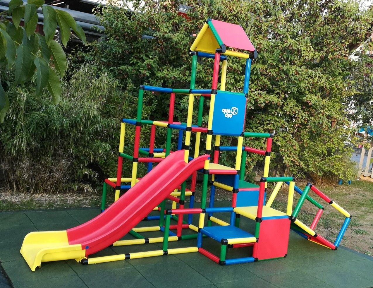 Endlich Ist Unsere Kletter Rutsche Kombination Von Quadro Fertig Besteht Aus Zwei Paketen Kletterpyramide Und Einem Up Kinder Spielzeug Kinderspielzeug Kinder